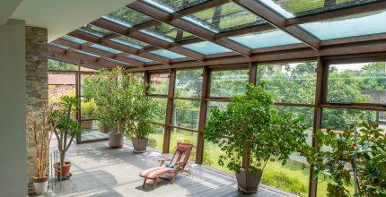 Coperture vetrate di design: caratteristiche e qualità del sistema Viss Basic